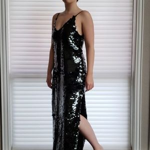 Free People Sequin Maxi Dress